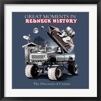Framed Redneck History