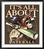 Framed All About Baseball