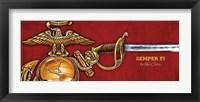Framed Marines