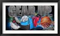 Framed Gear Up Basketball