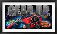 Gear Up Baseball Framed Print