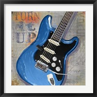 Turn it Up Framed Print