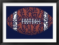 Framed Football