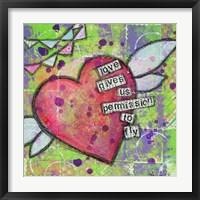 Framed Love Gives Us Permission