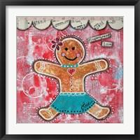 Framed Gingerbread Love