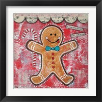 Framed Gingerbread Xmas