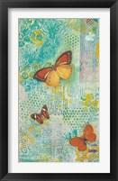 Framed Sunset Butterflies