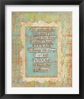 Framed Lords Prayer