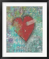 Framed Joy Heart