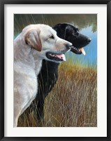 Framed Hunting Companions