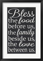 Framed Bless