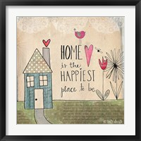 Framed Home Is Happiest