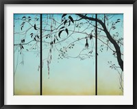 Framed Blue Twilight