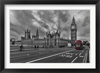 Framed Double Decker, London