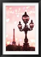 Framed Paris Valentine