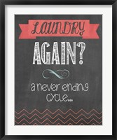 Framed Laundry Again