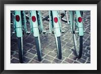 Framed Bicycle Line Up 1