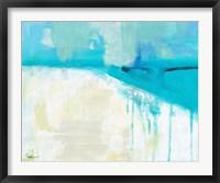 Coastal Blues 1 Framed Print