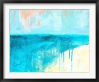 Coastal Blues 2 Framed Print
