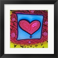 Heart 10 Framed Print
