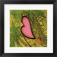Heart 3 Framed Print