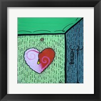 Framed Heart 7