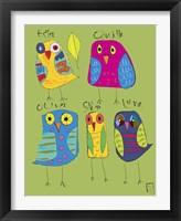 Framed Owls 3