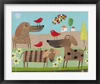 Framed Bird Dogs