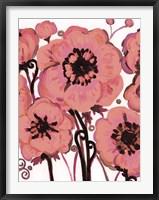 Framed Hot Pink Blooms