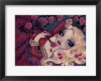 Framed Little Briar Rose