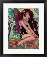Framed Rainbow Angel