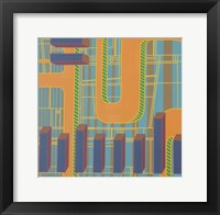 Framed Abstract 9