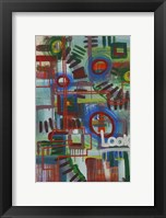 Framed Abstract 16
