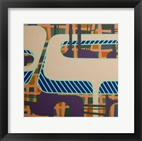 Lines Project 47 Framed Print