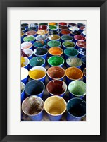 Cups And Tape 2 Framed Print