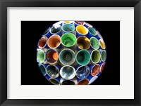 Cups And Tape 4 Framed Print