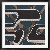 Lines Project 56 Framed Print
