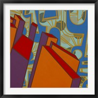 Lines Project 71 Framed Print