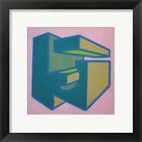 Project Third Dimension 3 Framed Print