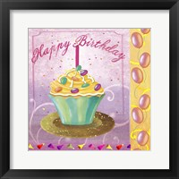 Framed Cupcake Holidays I