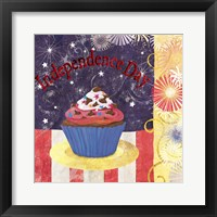 Framed Cupcake Holidays III