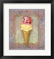 Framed Parlor Ice Cream I