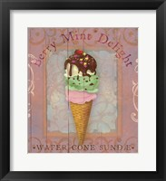 Framed Parlor Ice Cream II