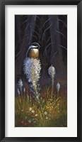 Framed Beargrass Chickadee