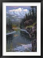 Framed Southfork Grizzly