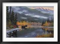 Framed South Fork Moose