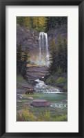 Framed Virginia Falls