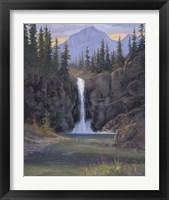 Framed Running Eagle Falls