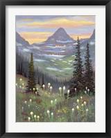 Framed Logan Pass