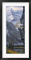 Framed Cliff Hanger